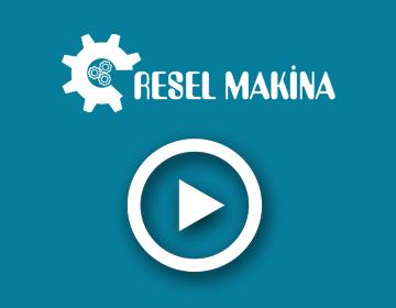 RESEL Makina - CNC dik işlem 2017 #2
