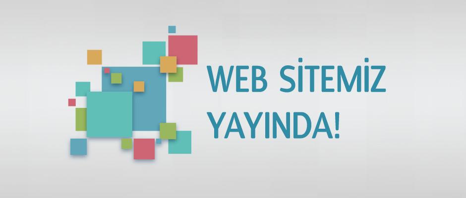 İnternet sitemiz yayında
